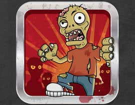 #32 cho Design - 2D Zombie Game Icon bởi Bebolum