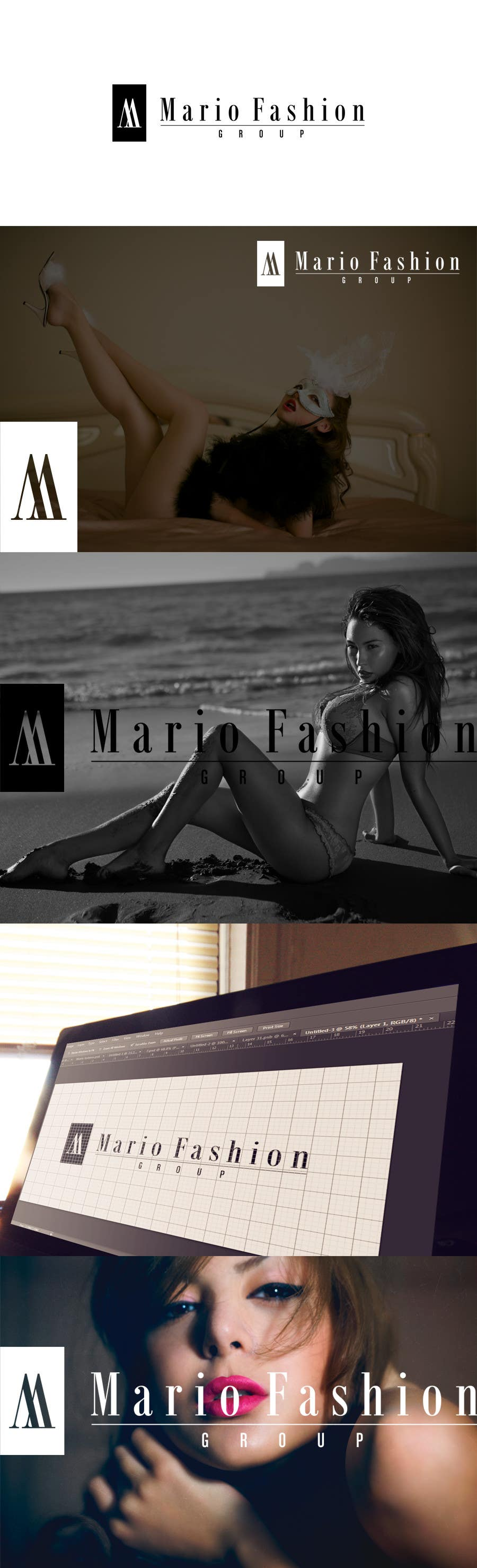 Inscrição nº 10 do Concurso para Develop a Corporate Identity for Mario Fashion Group