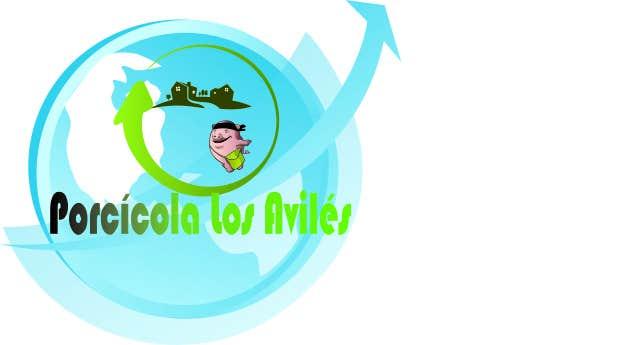 Inscrição nº                                         1                                      do Concurso para                                         Develop Corporative image for Granja Los Aviles