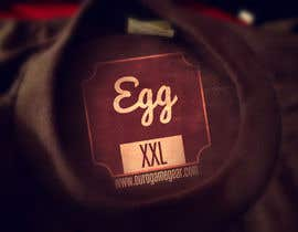 #9 for EGG Neck Label by VectorMedia