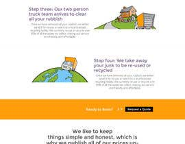 #24 cho Design a Website Mockup for a rubbish removal aggregation website bởi andreybalbekov