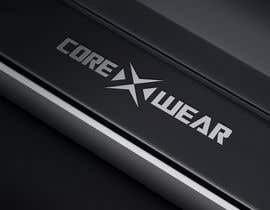 ayogairsyad tarafından Design a Logo for Core X Wear Athletic Apparel için no 130