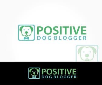 Nro 24 kilpailuun Design a Logo for Positive Dog Blogger käyttäjältä alikarovaliya