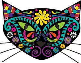 #14 untuk I need some Graphic Design for 60's based artwork - Cat's head oleh martinhouse