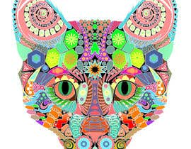 #15 untuk I need some Graphic Design for 60's based artwork - Cat's head oleh marcokap