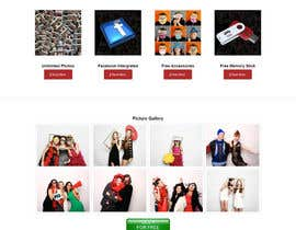#13 for Template Wordpress for Photography Services / Template para wordpress para aluguel de cabine fotográfica af chillipatchweb