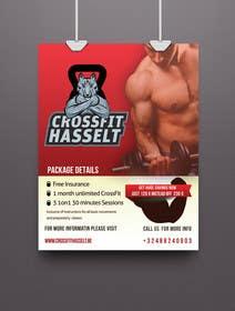 #47 untuk Ontwerp een Advertentie for Crossfit Hasselt oleh KatelynJB