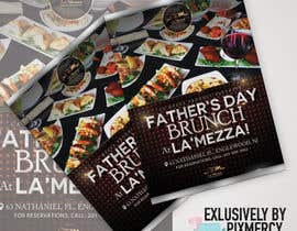 pixmercy tarafından Design a Flyer for Restaurant Fathers Day Event için no 9