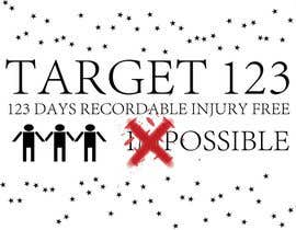 #43 for Design a Logo for Target 123 af geomvp2nite