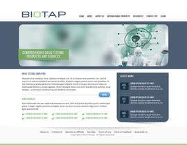 nº 8 pour Design a Website Mockup for BioTap Medical a drug testing and clinical services company. par Pavithranmm
