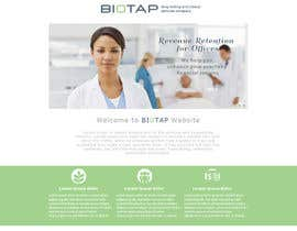 #32 for Design a Website Mockup for BioTap Medical a drug testing and clinical services company. by mekro1