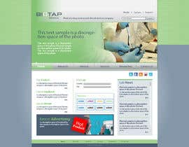 nº 38 pour Design a Website Mockup for BioTap Medical a drug testing and clinical services company. par aymanharb