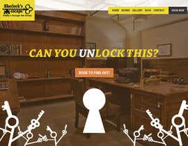 "#20 for Build a html Website for an ""Escape The Room"" company. by arispapapro"