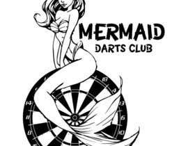 Nro 22 kilpailuun Design a Logo for MERMAID DART CLUB käyttäjältä rijulg