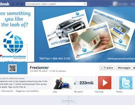 #8 for FACEBOOK LANDING PAGE!! NEED TO BE CREATIVE!!! by holecreative