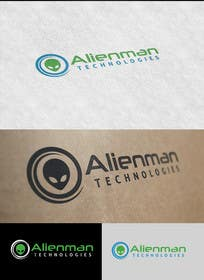 #57 para Design a Logo for Alienman Technologies por paxslg