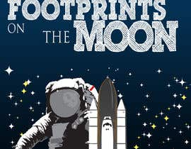 #59 for Creative Design for Inspirational Quote! (Footsteps on the moon) af webdeveloperng