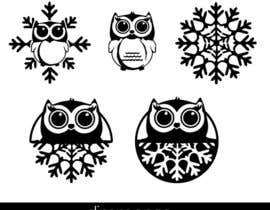 #8 cho Need some loving snowflake+owl graphics for my wedding bởi dimmensa