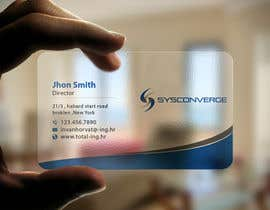 #58 untuk Design some Business Cards for Sysconverge oleh imtiazmahmud80