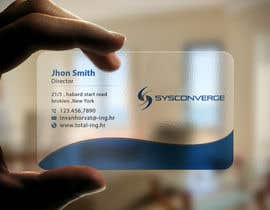 #59 untuk Design some Business Cards for Sysconverge oleh imtiazmahmud80
