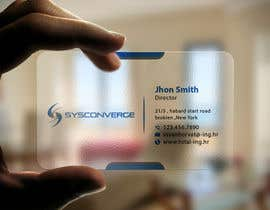 #62 untuk Design some Business Cards for Sysconverge oleh imtiazmahmud80