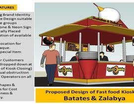 #15 untuk Redesigning Fast Food Kiosk oleh aramrut