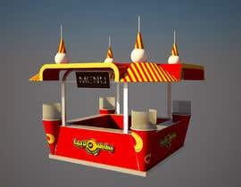 Nro 67 kilpailuun Redesigning Fast Food Kiosk käyttäjältä AnastasiyaH