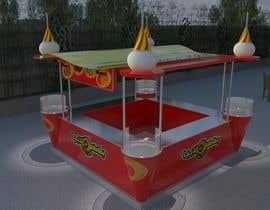 Nro 58 kilpailuun Redesigning Fast Food Kiosk käyttäjältä zeldom