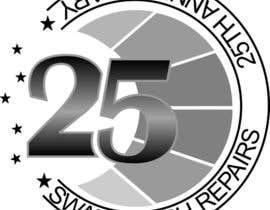 Nro 58 kilpailuun 25th Anniversary Logo käyttäjältä VMRKO