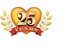 Nro 44 kilpailuun 25th Anniversary Logo käyttäjältä hussainabu