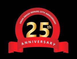 Nro 43 kilpailuun 25th Anniversary Logo käyttäjältä tariqaziz777