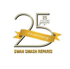 #52 untuk 25th Anniversary Logo oleh ranjandesigner