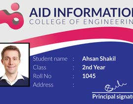 #6 for College ID Card design by ahsandesigns