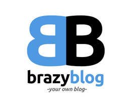 #6 for Design a Logo for BrazyBlog by makairider