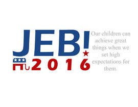 #127 para Redesign the campaign logo for U.S. presidential candidate Jeb Bush por Pierro52