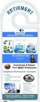Miniatura da Inscrição nº 6 do Concurso para Design a Brochure for a Door Hanger- Investments and Business Services