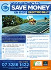 Graphic Design Natečajni vnos #43 za Advertisement Design for Goodhew Solar & Electrical