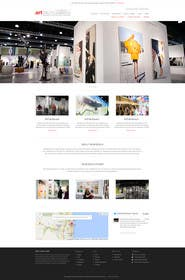 kreativeminds tarafından Design Landing Page, Responsive Landing Page & Overall Theme for Art Fair Website için no 8
