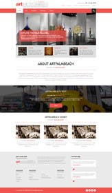 #9 for Design Landing Page, Responsive Landing Page & Overall Theme for Art Fair Website af kreativeminds