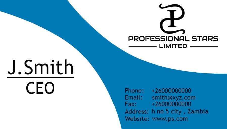 Penyertaan Peraduan #17 untuk Professional Stars Limited- Brand Design and Company Profile