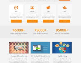 iambedifferent tarafından Create a responsive website design for a new live chat customer support company için no 15