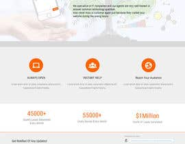 Rahimaakter015 tarafından Create a responsive website design for a new live chat customer support company için no 6