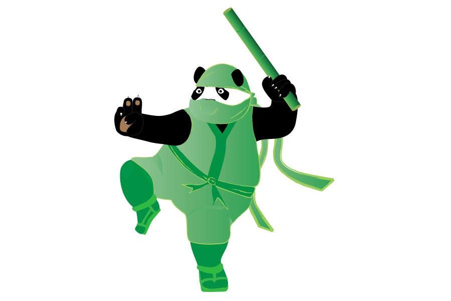 Natečajni vnos #                                        16                                      za                                         Mascot Design for Ninja Panda Designs