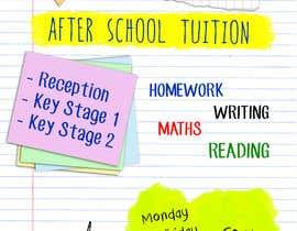 Nro 5 kilpailuun flyer for a after school tuition. käyttäjältä Chintogtoh