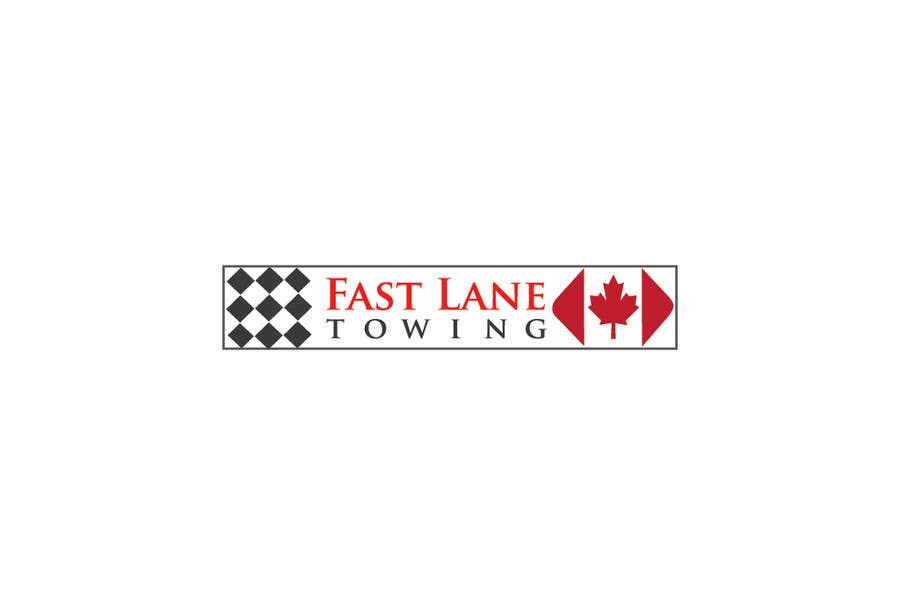 Penyertaan Peraduan #25 untuk Design a Logo for Fast Lane Towing