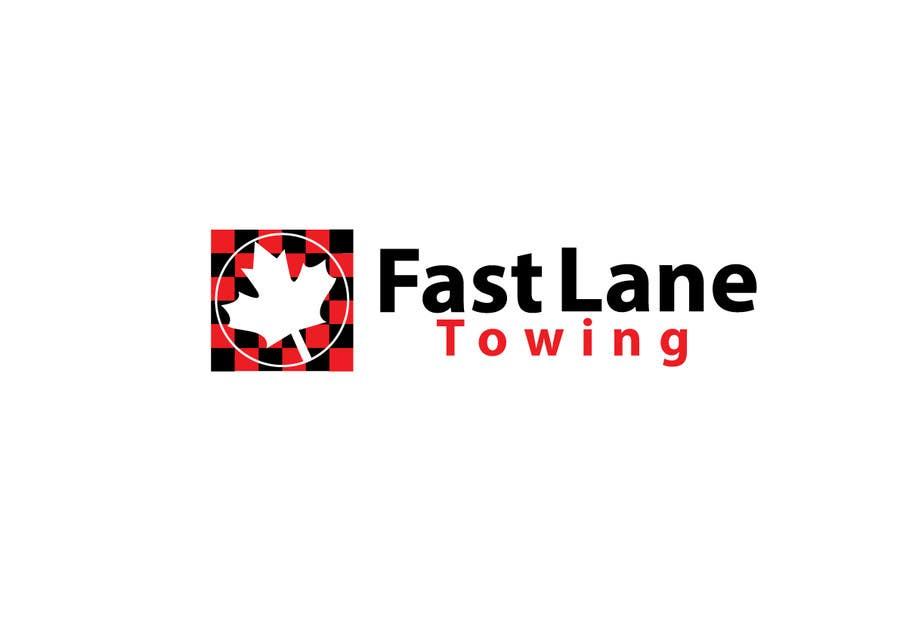 Penyertaan Peraduan #11 untuk Design a Logo for Fast Lane Towing