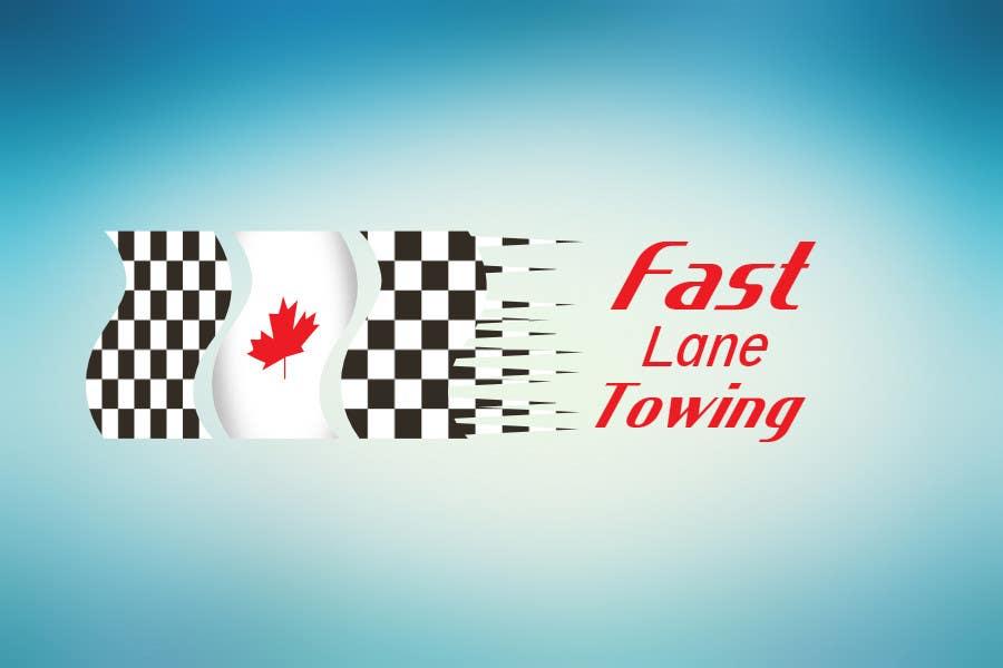 Penyertaan Peraduan #16 untuk Design a Logo for Fast Lane Towing