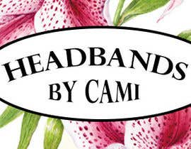 #12 untuk Design a logo for Headbands by Cami oleh SilvinaBrough