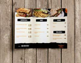 #5 untuk Design Menu from provided PSD oleh arthur2341