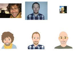 #8 for Animated caricatures (x4) af Idovoor